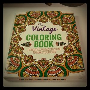 The Vintage Coloring Book